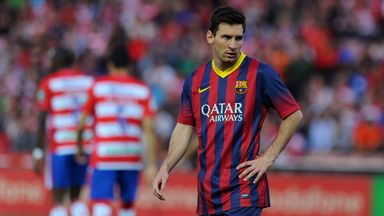 Lionel Messi is enduring the type of slump in form usually reserved for mere mortals