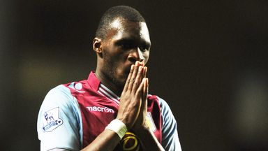Christian Benteke: Nursing his way back from an Achilles injury