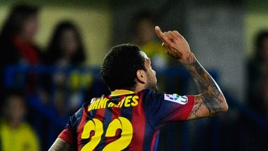 Dani Alves: Open to the idea of one day joining Barcelona