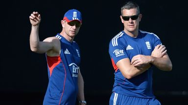 Paul Collingwood and Ashley Giles: England coaching duo in Bangladesh