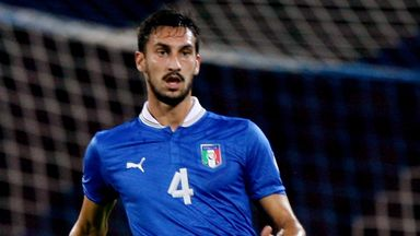 Davide Astori: Italy star is staying at Cagliari