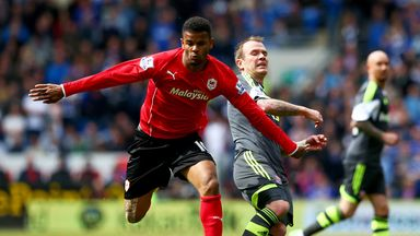Fraizer Campbell: Leicester are looking to land the Cardiff striker