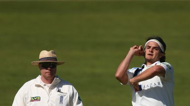 Jack Brooks: Yorkshire seamer finished with figures of 5-36