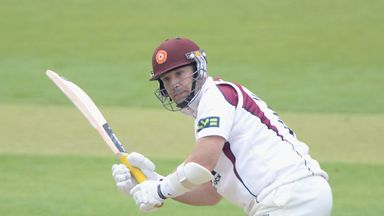 James Middlebrook: Northants opener resisted with 63 at Headingley