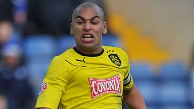James Vaughan: Injury blow for Huddersfield Town