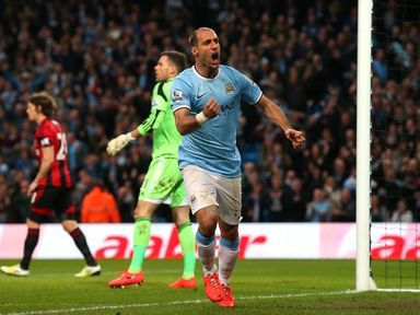 Pablo Zabaleta: Believes Manchester City can still win the title