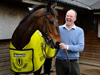 Dr Newland and his Grand National hero Pineau De Re