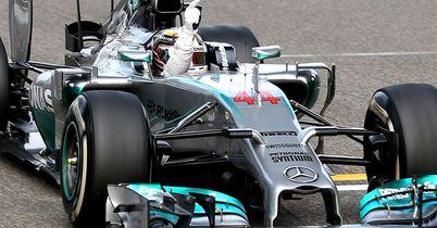 Chinese GP result is rewound