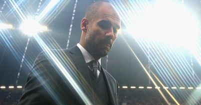 Pep 'trying too hard'