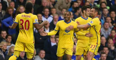 Palace dent Everton's hopes