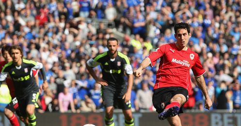 Peter Whittingham: Equalised for Cardiff