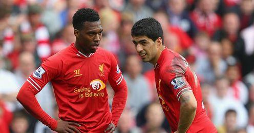 Daniel Sturridge and Luis Suarez: Goals missed by Liverpool