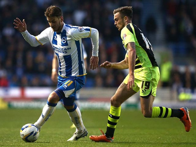Andrea Orlandi looks to hold off Joe Ralls