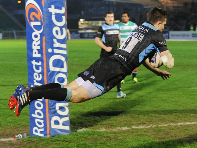 Henry Pyrgos gets his second try of the night