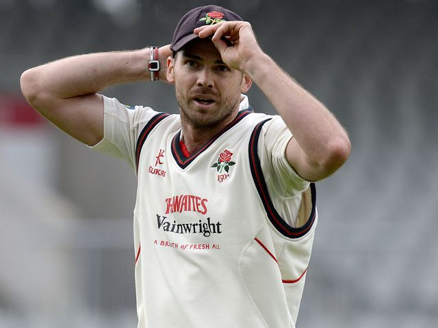 James Anderson: Made fine start to his season with Lancashire
