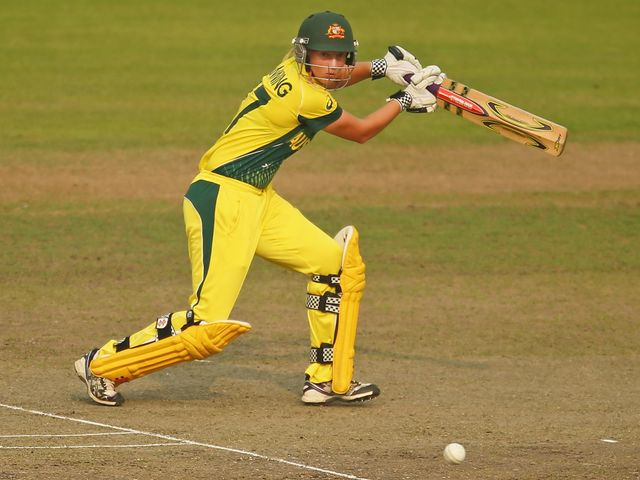 Meg Lanning: Top-scored with 43 for Australia