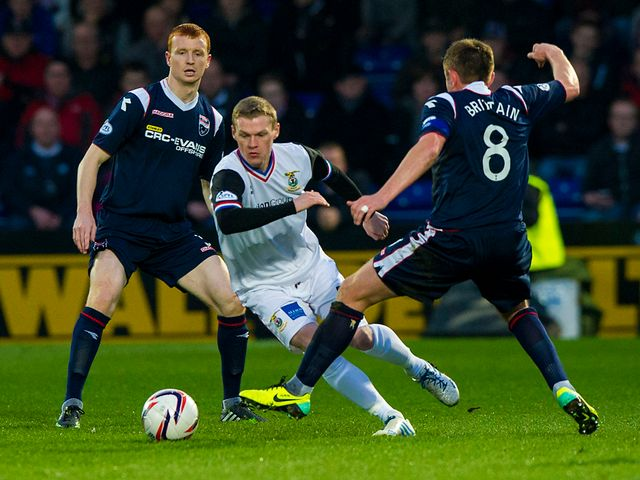 Billy McKay in action for Inverness