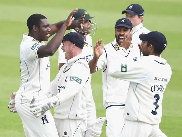 Keith Barker: In the wickets for Warwickshire