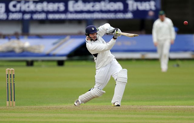 Hampshire's James Vince hit 159 in draw