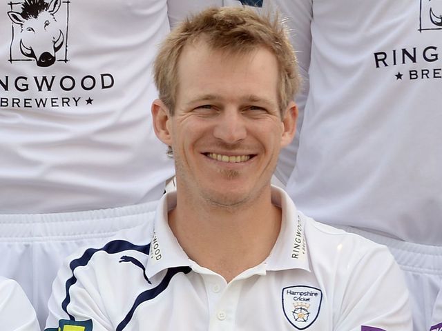 Adams guided Hampshire to an important win