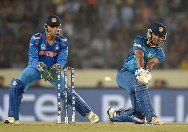 Kumar Sangkkara: Sri Lanka's No 3 hit 52 not out off 35 balls