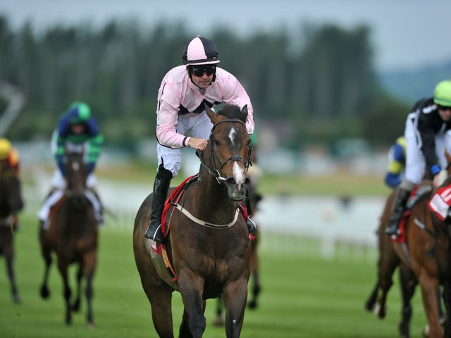Ansgar: Bids to put an injury problem behind him at the Curragh.
