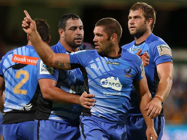 Matt Hodgson: Scored twice as Western Force moved second