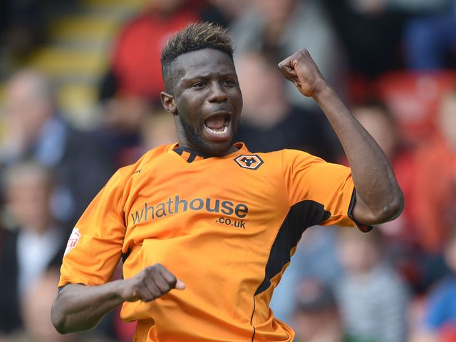 Bakary Sako: Scored twice for Wolves