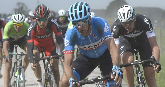 David Millar revealed his omission on Twitter