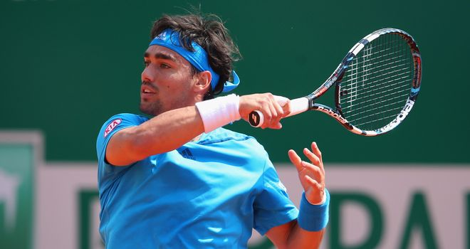 Fabio Fognini: Battled into last four