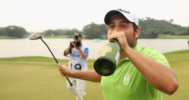 Levy: Alexander Levy has been named the European Tour golfer of the month for April.