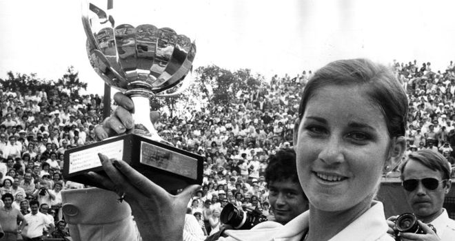 Chris Evert won a record seven French Open titles, beginning with back-to-back titles in 1974 and 1975