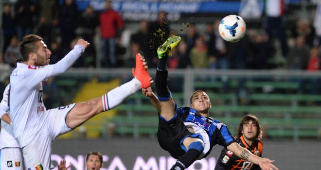 Giuseppe De Luca grabs a late leveller for Atalanta