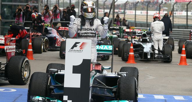 'Hamilton in the sweet spot'