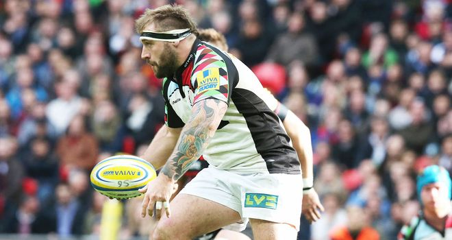 Joe Marler: Harlequins prop has signed a new contract with the London club