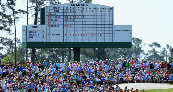 The patrons were treated to another fascinating day of action at Augusta National on Friday