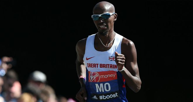 Mo Farah: Was scheduled to race the 5000m and 10,000m in Glasgow
