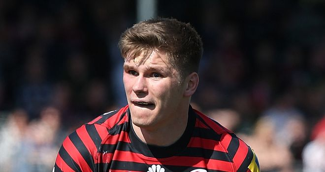 Owen Farrell: Fly-half will be available for season climax
