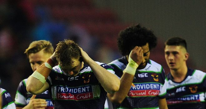 Bradford Bulls: Now know they will be playing in the Championship next season
