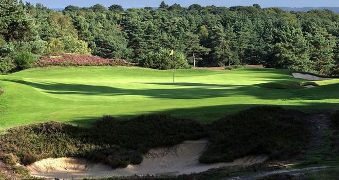 Sunningdale Golf Course: unveiled as one of four venues for Open Championship final qualifying