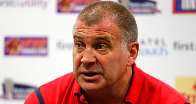Shaun Wane: Proud of the way injury-hit Wigan performed against Salford