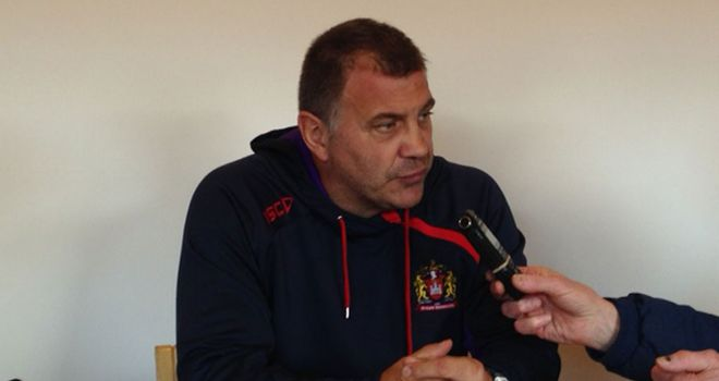 Shaun Wane: Expecting a battle-hardened Leeds on Friday