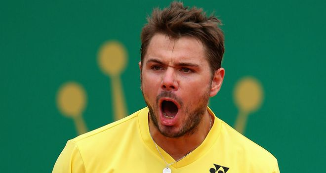 Stan Wawrinka: Had won on clay in Monte Carlo earlier this year
