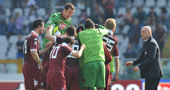 Celebrations for Torino