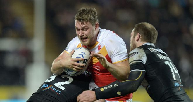 Elliott Whitehead: Catalans' leading try-scorer faces a lengthy spell out of the game