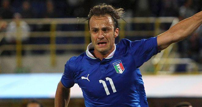 Alberto Gilardino: Genoa striker could be sold