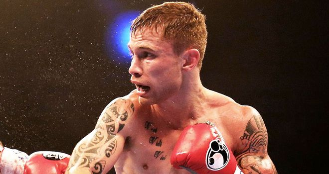 Carl Frampton: Ready to deliver in Belfast in September.