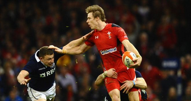 Wales full-back Liam Williams: cited for dangerous tackle