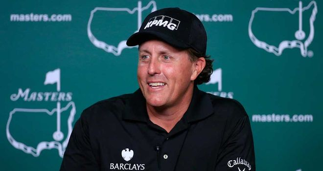 Phil Mickelson: Nervous times for Open champion