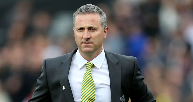 Neil Adams: Wants a performance from his Norwich side